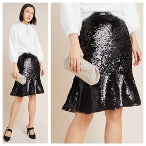 🆕 Anthropologie Esme Sequined Skirt  by Hutch